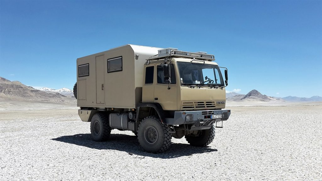 Allrad Reisemobil Steyr 12M18