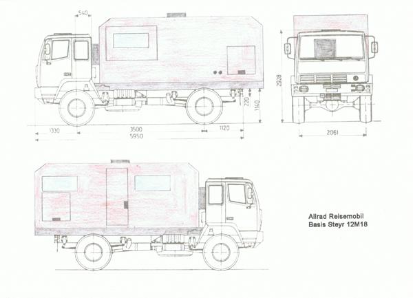 Planung Zeichnung